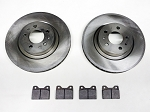 Front Brake Pad & Rotor Set - 134725KIT