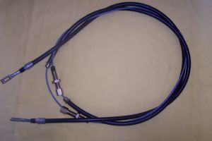 Rear Handbrake Cable to SN 75526-127521