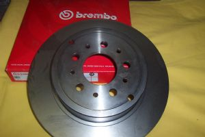 Rear Brake Rotor - OE Brembo-160052
