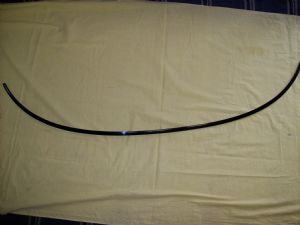 Lower Front Window Molding - special order part-61510800
