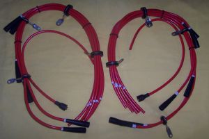 Ignition Wire Set-Complete 2 Distributors-9983
