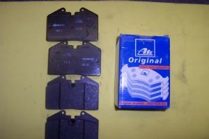 Brake Pads Front w/ATE Calipers (ATE brand Pads)-70000598